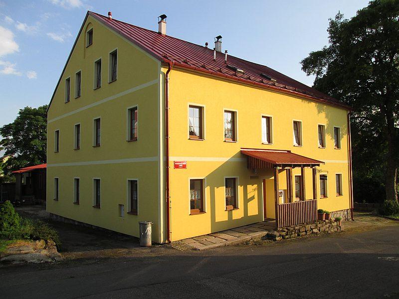 kancelář v Horní Blatné